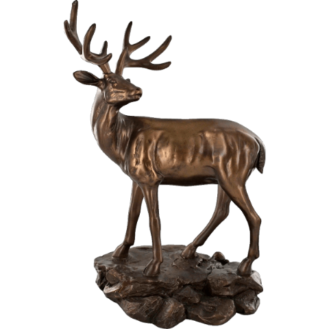 Highland Stag Cold Cast Bronze Sculpture